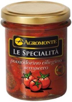 画像1: セミドライトマト オイル漬け<チェリートマト> (200g) アグロモンテ社